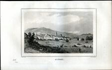 Creuse, Guéret ........gravure 1838
