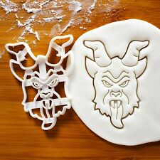 Realistic Krampus cookie cutter - Christmas horror goat demon Krampuslauf beast