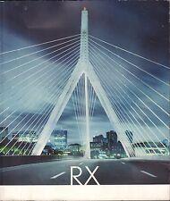 Lexus RX 350 Advertising Brochure VG 100516DBE