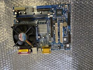 Mainboard ASRock ATA133 K7S41 mit  Prozessor #A84
