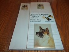 Akita Notepad Magnet Gift Pack - 3 Piece Set - By Ruth Maystead