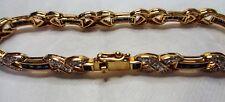 Diamond & Sapphire Tennis Bracelet 0002