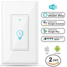 Megadream Alexa WiFi Light Switch, Smart On/Off Wall Switch, Timing, Wireless