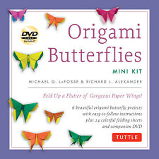 Origami Butterflies Mini Kit 'Fold Up a Flutter of Gorgeous Paper Wings! LaFosse
