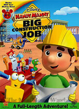 Disney Junior Handy Manny Big Construction Job Full Length Kids Tools Movie DVD