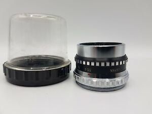 Rare Vintage Autocrat De Luxe Enlarger Lens 1:3-5 F=75mm No. 607818