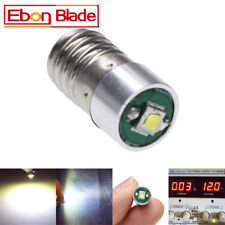 1Pcs CREE Lamp LED Bulb 3V-18V White MES E10 1447 Screw for Torch Bike Bicycle