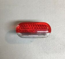 Volkswagen VW OEM Door Warning Light Reflector Red Lens Courtesy Lamp 1J0947411E