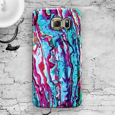 Abalone Shell Pink Pattern Galaxy S3,S4,S5,S6,S6 Edge,S6 Edge+, Note 3,4,5 Case