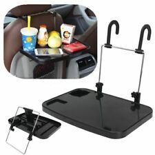 Foldable Car Back Seat Laptop PC Desk Fold Down Meal Tray Holder Steering Wheel
