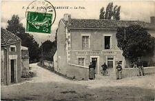CPA  Bourg-Charente - La Poste  (480655)
