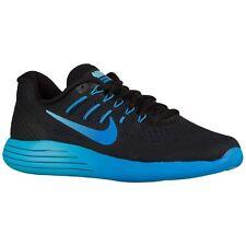 Nike Lunarglide 8 Women's (Size 6.5) Running Shoes Black Royal Blue 843726-004