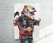 New listing Max Verstappen Red Bull F1 Poster, Banner, Formula 1 Fan, Kids Wall Decor