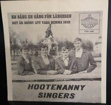 Hootenanny Singers (Björn Ulveaus / ABBA) - En Sång En Gång För Länges    Norway