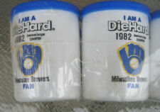 1982 Milwaukee Brewer Styrofoam beer can holders Coozie Koozie NOS Lot 6 new NOS