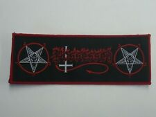 POSSESSED DEATH METAL WOVEN PATCH