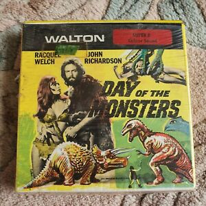 Super 8 / 8mm Film - Day Of The Monsters With Racquel Welsh