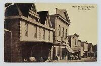 Postcard Main Street Looking North Mt Airy Maryland