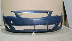 VAUXHALL ASTRA J 2009-12 FRONT BUMPER WITH PDC HOLES