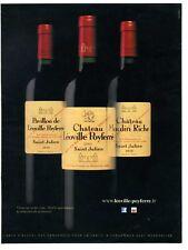 2017 : Vin de Bordeaux, Saint-Julien, Léoville Poyferré (publicité, advertising)