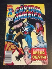 Captain America#411 Incredible Condition 9.0(1993) Levins Art,Crossbones!!