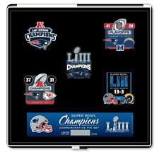 New England Patriots Super Bowl 53 LIII Champions Commemorative Pin Set  Limited 31f1fad51
