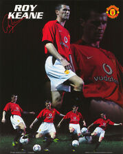 SMALL POSTER : SOCCER : ROY KEANE - MANCHESTER UNITED  FBC    #MP0281  LC18 Q-L