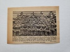University of Colorado 1924 Football Team Picture RARE