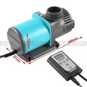 Changeable Flow Rate Delivery Head 10000LH Water Fish Tank Pond Pump Pool Marine