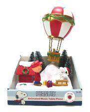 PEANUTS CHRISTMAS BALLOON ANIMATED MUSIC TABLE PIECE BY KURT ADLER CHARLIE BROWN
