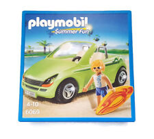 Playmobil Surfer with Convertible 6069 Roadster Cabriolet Surfeur Sport Car Auto