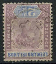Leeward Islands 1890 SG#3w, 2.5d Dull Mauve And Blue QV Wmk Inverted Used#D22449