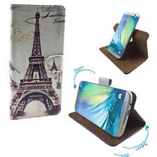 Handy Schutzhülle - Vodafone Smart prime 6 Case Hülle Tasche 360° Paris 2 M