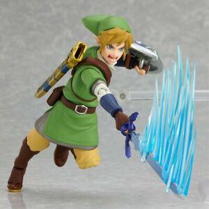 Link Figur - Zelda Skyward Sword - ORIGINAL NintendoFigma GoodSmile - Wie Neu