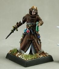 Damiel Alchemist Reaper Miniatures Pathfinder Wizard Mage Caster Poison Rogue