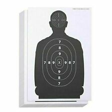Juvale 17 x 25 inch Shooting Range Paper Silhouette Targets for Firearms - 50 Sheets
