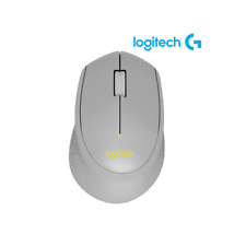Logitech M331 SILENT PLUS Wireless Mouse with Nano Receiver Gray/Yellow Color