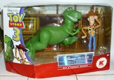 Disney Pixar Toy Story Screen Scenes Rex & Sheriff Woody Figures New