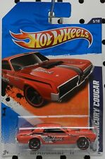 EDELBROCK RED DRAG RACE CAR 11 135 5 1968 68 MERCURY COUGAR HW HOT WHEELS