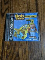 Bob The Builder Can We Fix It? Sony PlayStation PS1 *Complete*