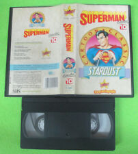 VHS film SUPERMAN COLLECTION 10 Cartoon classic 1992 STARDUST (F64) no dvd