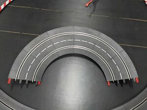 Carrera 1/30 Banked Curve 1/24 Slot Cars Complete WITH clips FREE SHIPPING