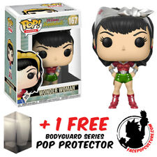 FUNKO POP DC WONDER WOMAN HOLIDAY EXCLUSIVE VINYL FIGURE + FREE POP PROTECTOR