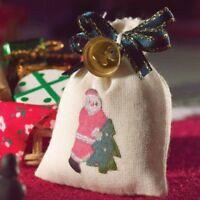 Sack vom Weihnachtsmann mit Glocke Santa´s Sack w/Bell Puppenstube 1:12 Art 4334