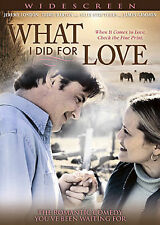 "NEW DVD MOVIE ""WHAT I DID FOR LOVE"" JEREMY LONDON & DORIE BARTON WIDESCREEN 2007"