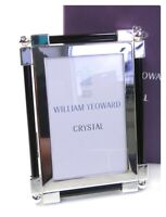 William Yeoward Crystal photograph frame silver plate mib