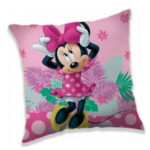 Brand New Disney Minnie Mouse Big Bow Reversible Cushion