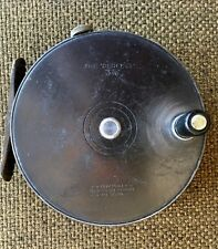 "Vintage Hardy Bros. The ""Perfect"" 3 7/8 Fly Fishing Reel with Original Box"