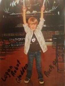 Logan Robot Gladden Autogramm, Kinderstar