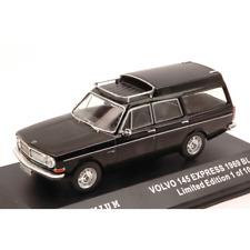 VOLVO 145 EXPRESS 1969 BLACK 1:43 Triple 9 Auto Stradali Die Cast Modellino